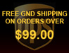 Free UPS Ground Shipping On Orders Over $99